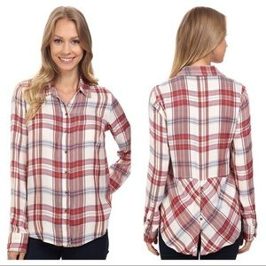 Adorable lucky brand flannel!